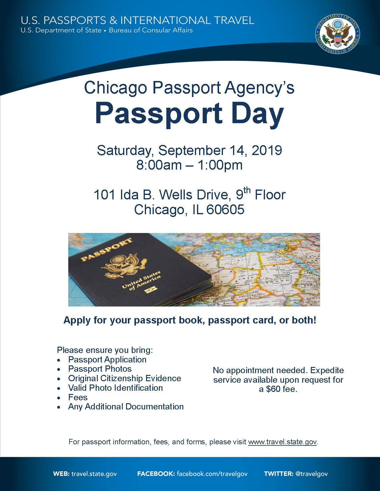 Passport Day 2019 Flyer